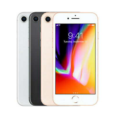 Apple iPhone 8 - Smartphone - 64GB 256GB - Unlocked SIM Free - Various Colours