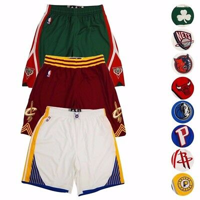 NBA Adidas Authentic On-Court Climacool Team Game Shorts Collection Mens