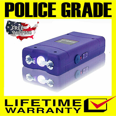 TERMINATOR STUN GUN MAX POWER MINI RECHARGEABLE POLICE FLASHLIGHT STUN GUN
