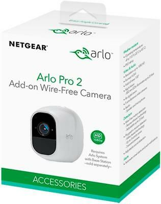 BRAND NEW Arlo - Pro 2 Add-On Security Wireless Camera - Weather Resistant