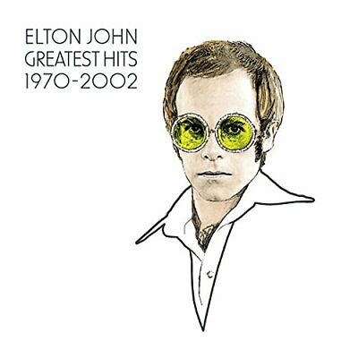 Elton John - The Greatest Hits 1970-2002 - Elton John CD ETVG The Fast Free