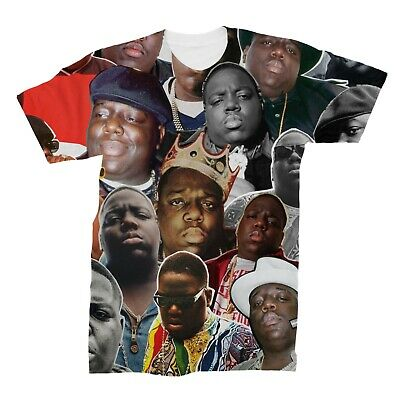 The Notorious B-I-G- Biggie Smalls Collage T-Shirt