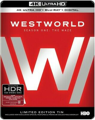 Westworld The Complete First Season New 4K UHD Blu-ray With Blu-Ray 4K Mas