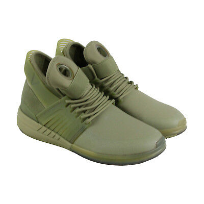 Supra Skytop V Mens Green Synthetic Lace Up Sneakers Shoes