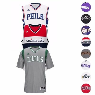 2016-17 NBA Adidas Team Blank Swingman Climacool Jersey Collection Mens