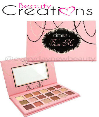 Beauty Creations Tease Me Eyeshadow Palette  Authentic - Brand New  US SELLER