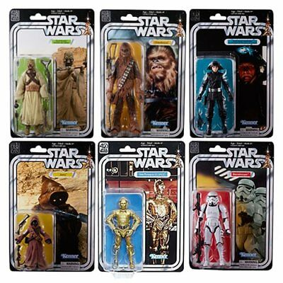 Hasbro Star Wars Black Series 40th Anniversary 6 Action Figures Wave 2 SET OF 6