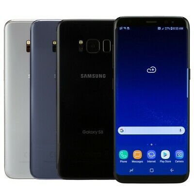 Samsung Galaxy S8 Smartphone AT-T Sprint T-Mobile Verizon or Unlocked