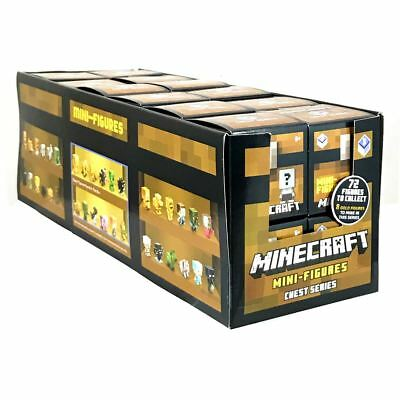 New 24 1 Box Minecraft Unlimited Chest Series 3 Blind Box Figures Official