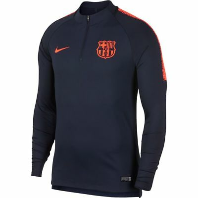 New Nike Mens DrI-Fit FC Barcelona Squad Drill Top 2018 943159 452