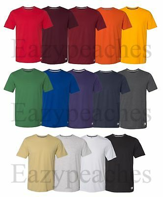 Russell Athletic - Mens Essential Blend Performance Tee Sports T-Shirt S-3XL
