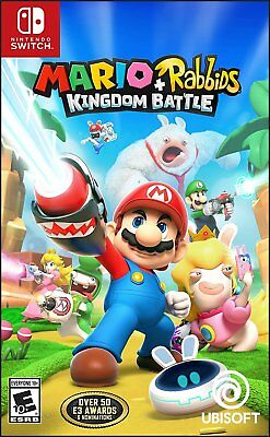 Mario - Rabbids Kingdom Battle for Nintendo Switch Console New Ships Fast