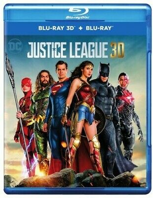 Justice League 2017 Blu-ray 3D