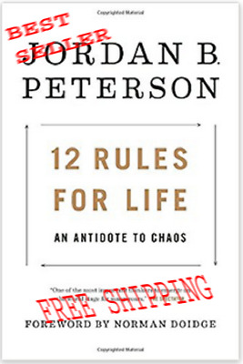 12 Rules for Life  An Antidote to Chaos- 2018 Hardcover-FREE SHIPPING