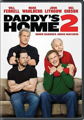 DADDYS HOME 2 DVD 2018 BRAND NEW SEALED FREE SHIPPING WAHLBERG FERRELL