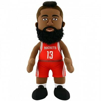 James Harden NBA Houston Rockets 10 Plush Figure