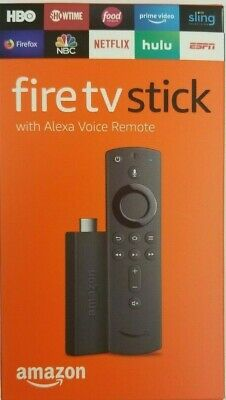 Amazon Fire Stick HD 2019 w new gen Alexa Voice Remote TENS OF THOUSNDS sold