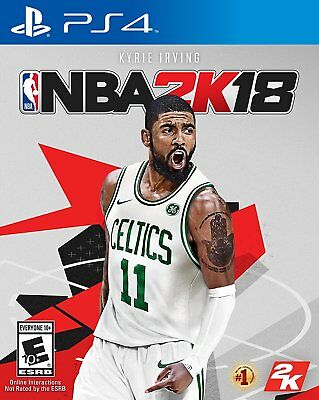 NBA 2K18 Basketball for PS4 Playstation 4 Pro Console New Sealed Ships Fast