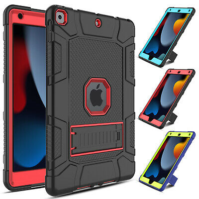 For iPad 6th Generation 9-7 2018 Case Shockproof Rugged Hard Armor Stand Cover