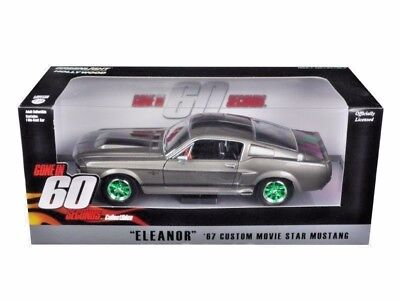 Chase 1967 FORD MUSTANG CUSTOM ELEANOR GONE IN 60 SECONDS 124 GREENLIGHT 18220