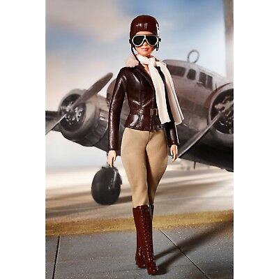 Amelia Earhart Barbie Inspiring Women- Early Release In Hand Ready to Ship Now