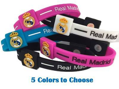 Real Madrid Football Soccer Team Wristband Wristlet Bracelet Pulsera World Cup