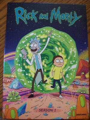 Rick and Morty The Complete First Season DVD 2014 2-Disc Set