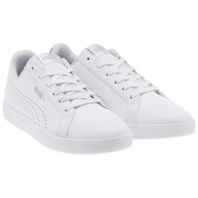 NEW Puma Smash Womens Perf Met White  PICK Size