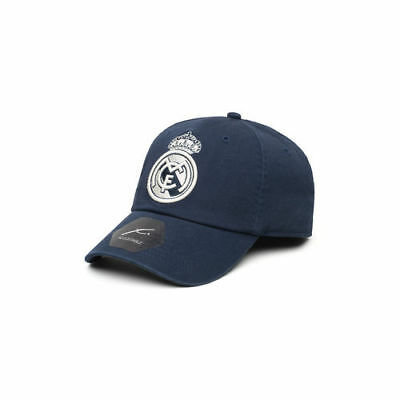 Real Madrid Legend Unstructured Adjustable Hat - Navy