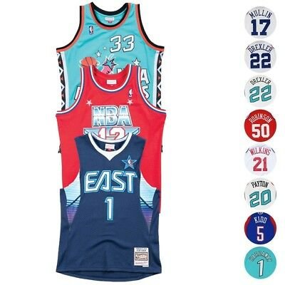 1983-2004 NBA All Star East West Mitchell - Ness Swingman Throwback Jersey Mens