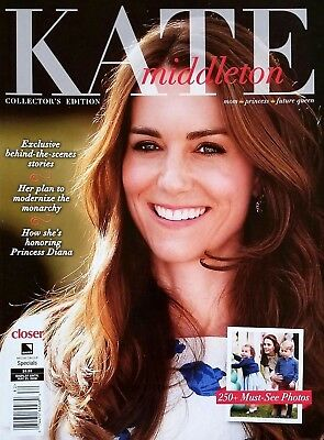 KATE MIDDLETON CLOSER MAGAZINE COLLECTORS EDITION 250- MUST SEE PHOTOS 2018 NEW