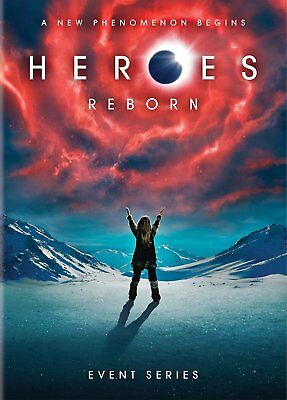 Heroes Reborn Event Series New DVD Ships Fast