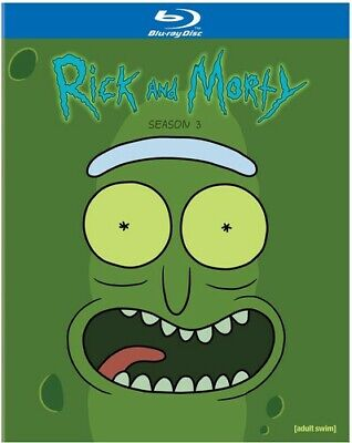 Rick - Morty Season 3 Blu-rayDVDDigital