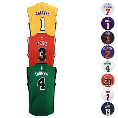 2016-17 NBA Official Team Player Replica Home Away Jersey Collection Youth S-XL