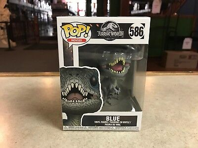 2018 Funko POP Movies Jurassic World BLUE 586 Vinyl Figure NIB