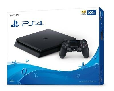 NEW - SEALED PS4 Slim 500GB - Sony PlayStation 4 Console