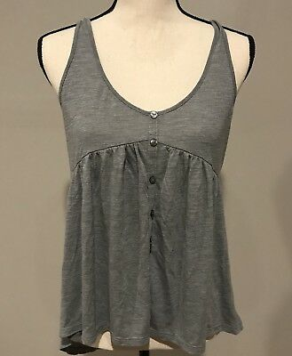 american eagle outfitters Womens Tank Top Racerback High Low Shirt Size Medium M