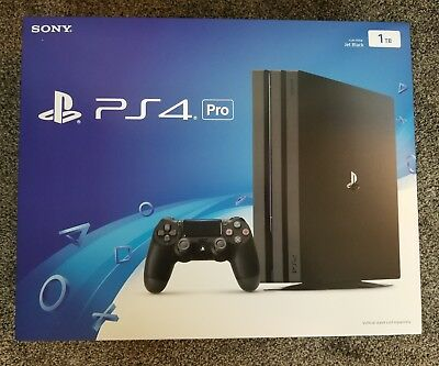Sony PlayStation 4 Pro 1TB Console Brand NEW