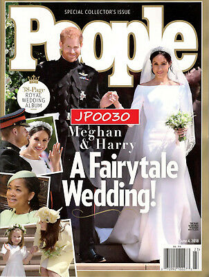People Special Issue 2018 Meghan - Harry A Fairytale Wedding Brand NewSealed
