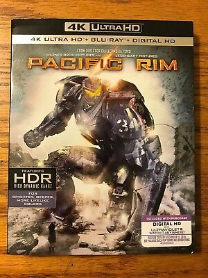 Pacific Rim 4K Ultra HD Blu-ray Digital HD Brand New FAST FREE SHIPPING