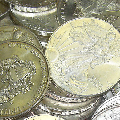 RANDOM DATE SILVER EAGLE-GREAT PRICE FREE SHIPPING