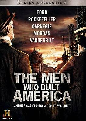 The Men Who Built America New DVD Ships Fast
