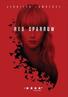 Red Sparrow 2018 DVD Jennifer Lawrence - New Free Shipping