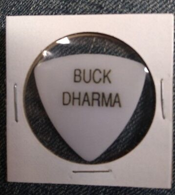 BUCK DHARMA BLUE OYSTER CULT GUITAR PICK - FREE US SHIPPING