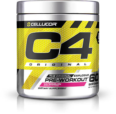 Cellucor C4 Pre-Workout Kit with Shaker Cup Wild Fruit Blast 90 Servings NEW