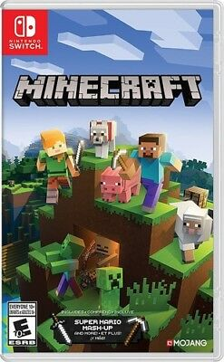 Minecraft for Nintendo Switch New Video Game
