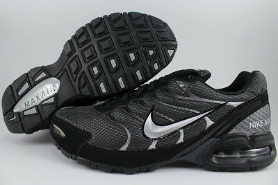 NIKE AIR MAX TORCH 4 BLACKSILVERANTHRACITE GRAY RUNNING TRAINER US MENS SIZES