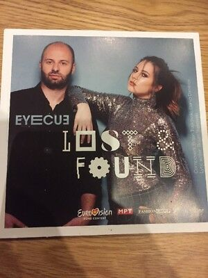 Eurovision 2018 FYROM Macedonia Eyecue Lost - Found Brand New CD