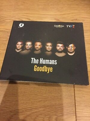 Eurovision 2018 Romania The Humans Goodbye Promo Set CD NEW