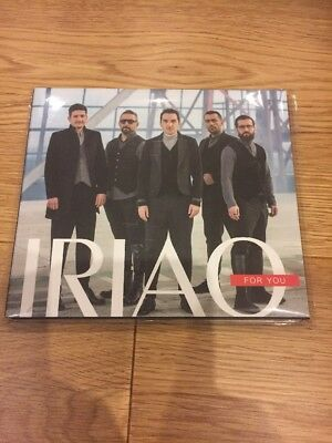 Eurovision 2018 Georgia Promo Set CD Iriao For You NEW Sealed